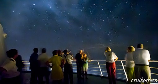 Stargazing on the Caribbean