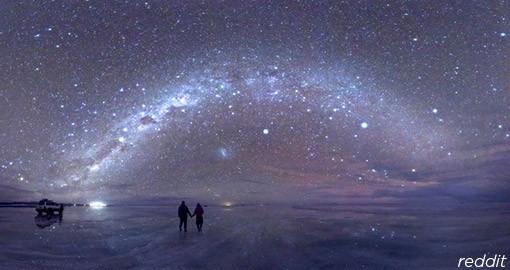 Uyuni Salt Flats Stargazing
