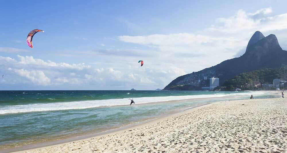 brazil kitesurfing