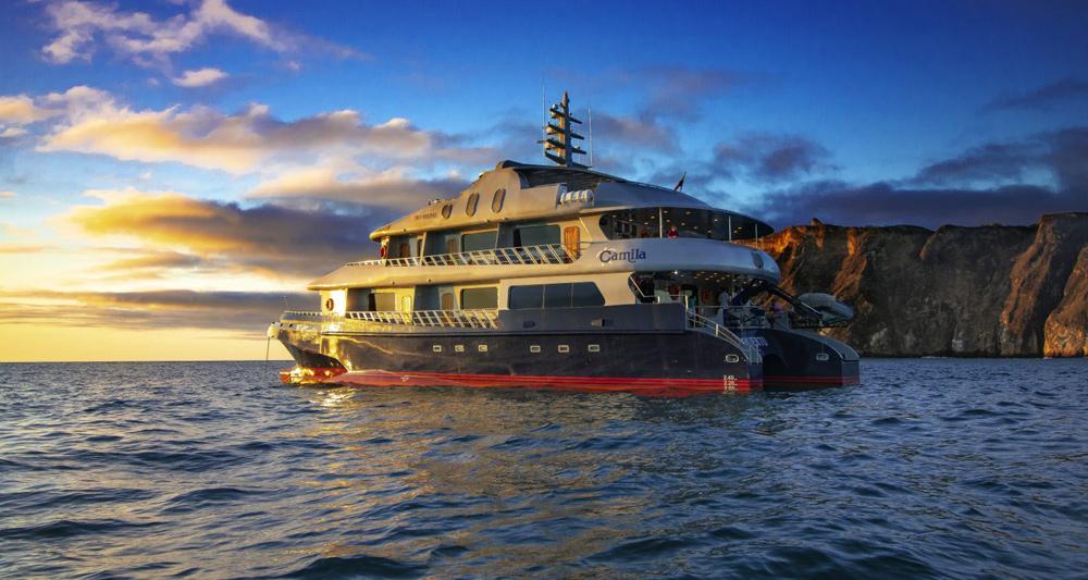 Camila Galapagos Yacht