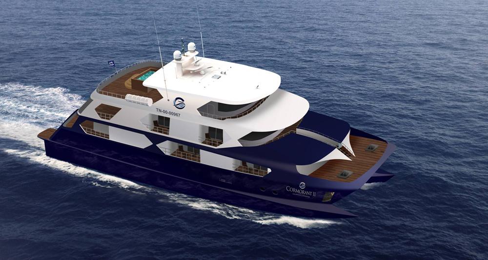 Cormoarant 2 Galapagos Yachts