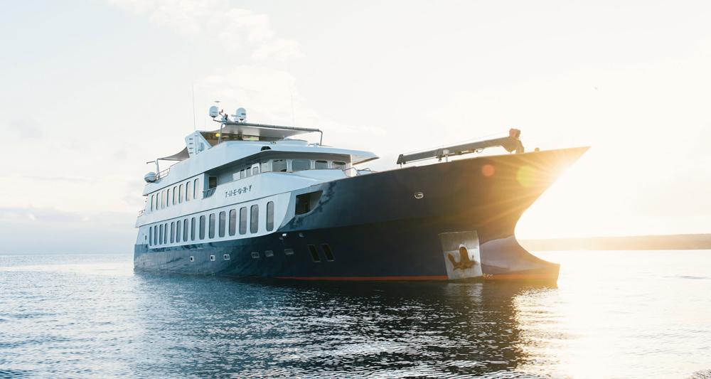 Theory Galapagos Yacht